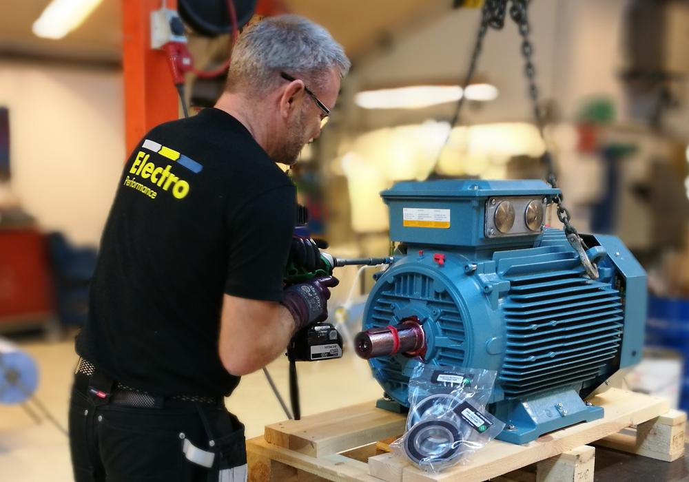 "Electro Performance leverer ""same day"", ABB-motorer med hybridlejer"